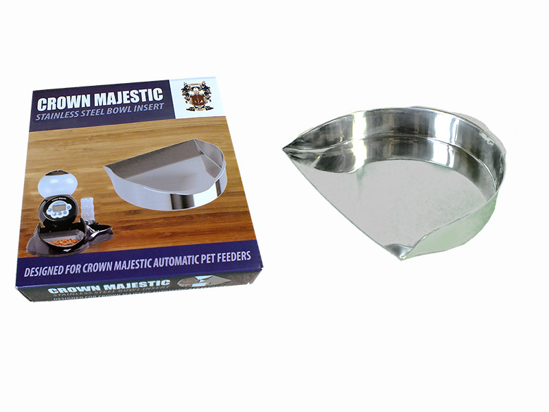 Crown Majestic Stainless Steel Food Bowl